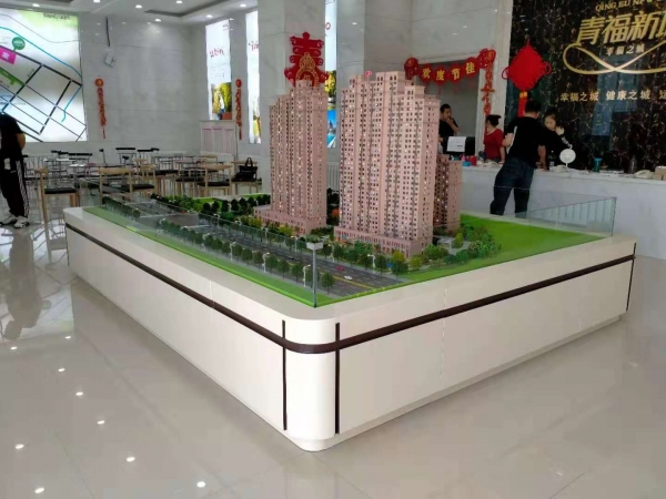 青福新城沙盘模型