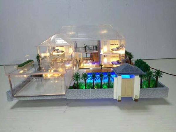 巴盟单体户型模型设计