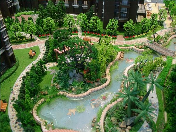 地形沙盘模型