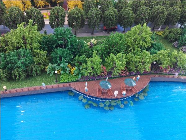 呼和浩特景区模型设计