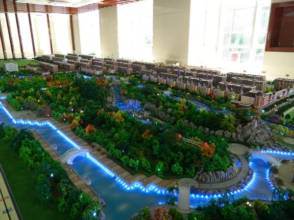 地产规划模型