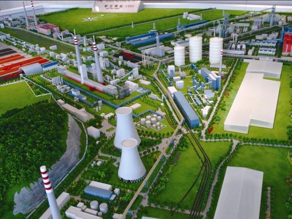 呼和浩特环保新能源科技模型设计