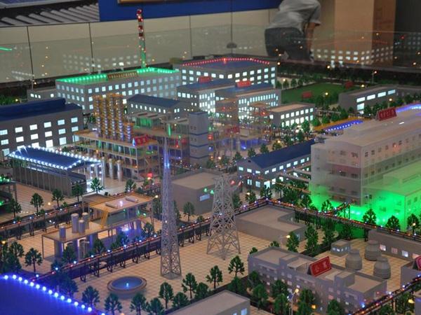 呼和浩特新能源科技模型设计