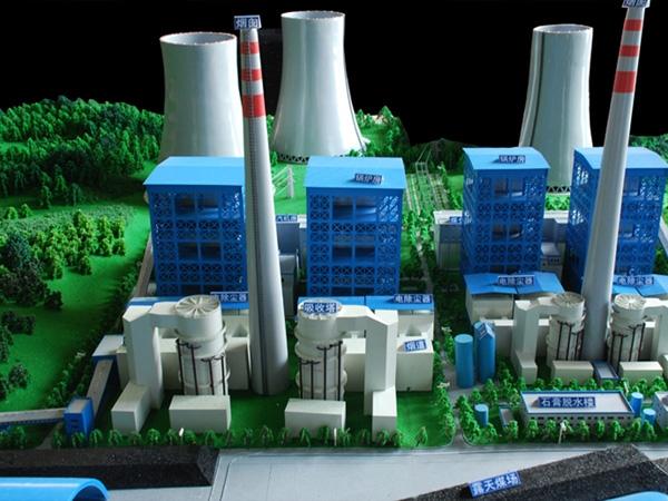 环保新能源沙盘模型