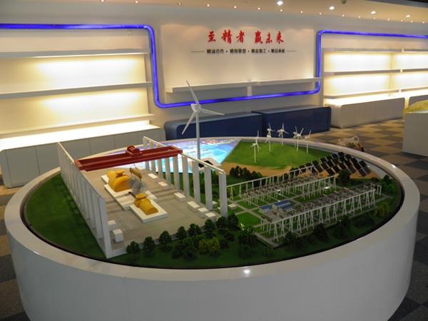 环保新能源沙盘模型制作