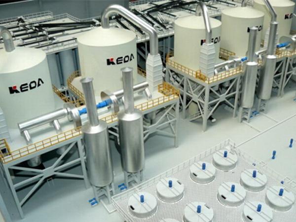 环保新能源模型工艺