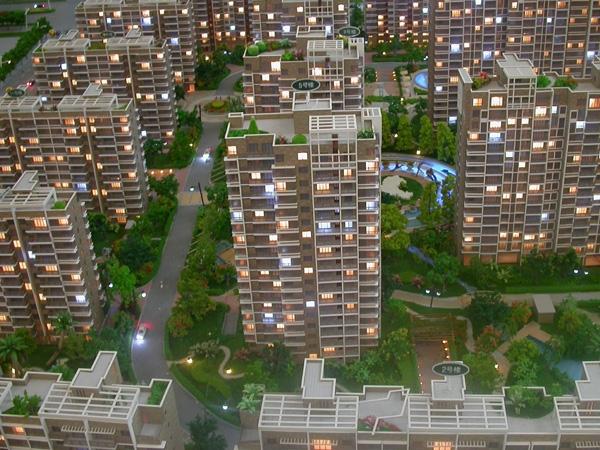呼和浩特建筑模型