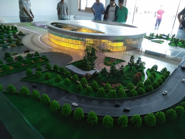 商场楼盘模型设计
