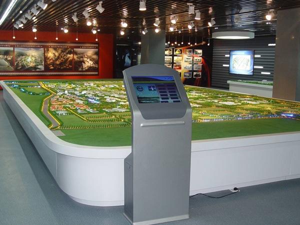 展览馆沙盘模型