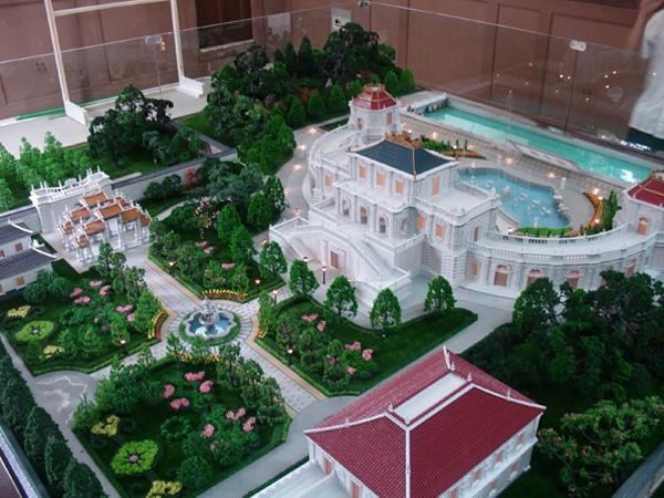 地形景区模型制作
