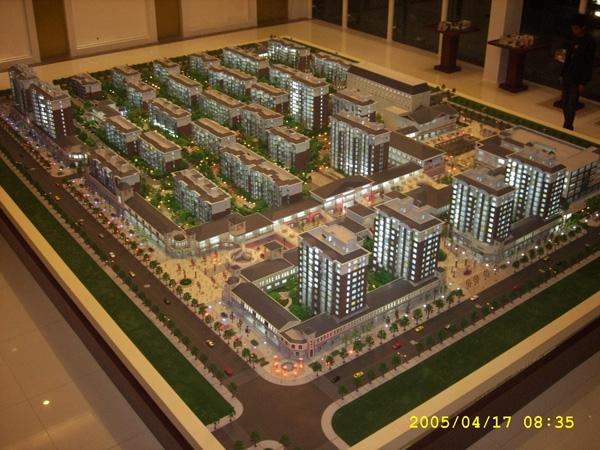 地产模型制作