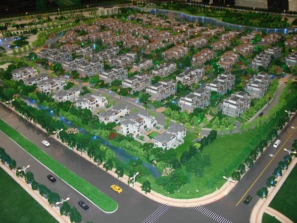 城建沙盘模型设计
