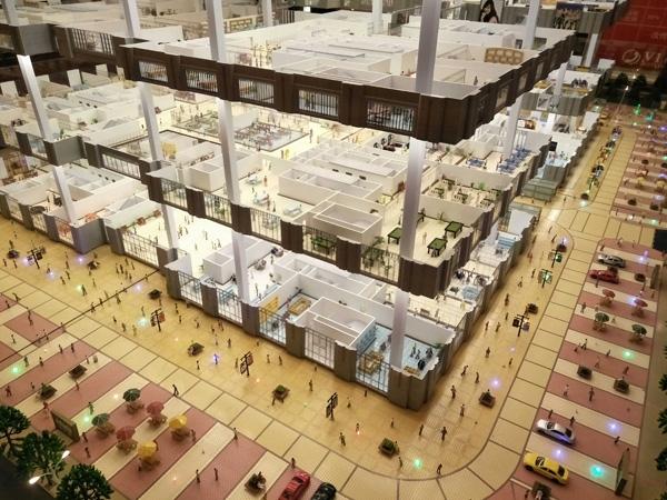 商场楼盘模型