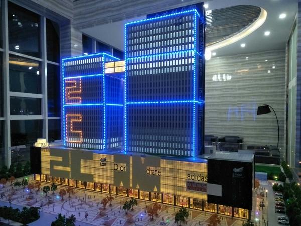 商场楼盘模型制作